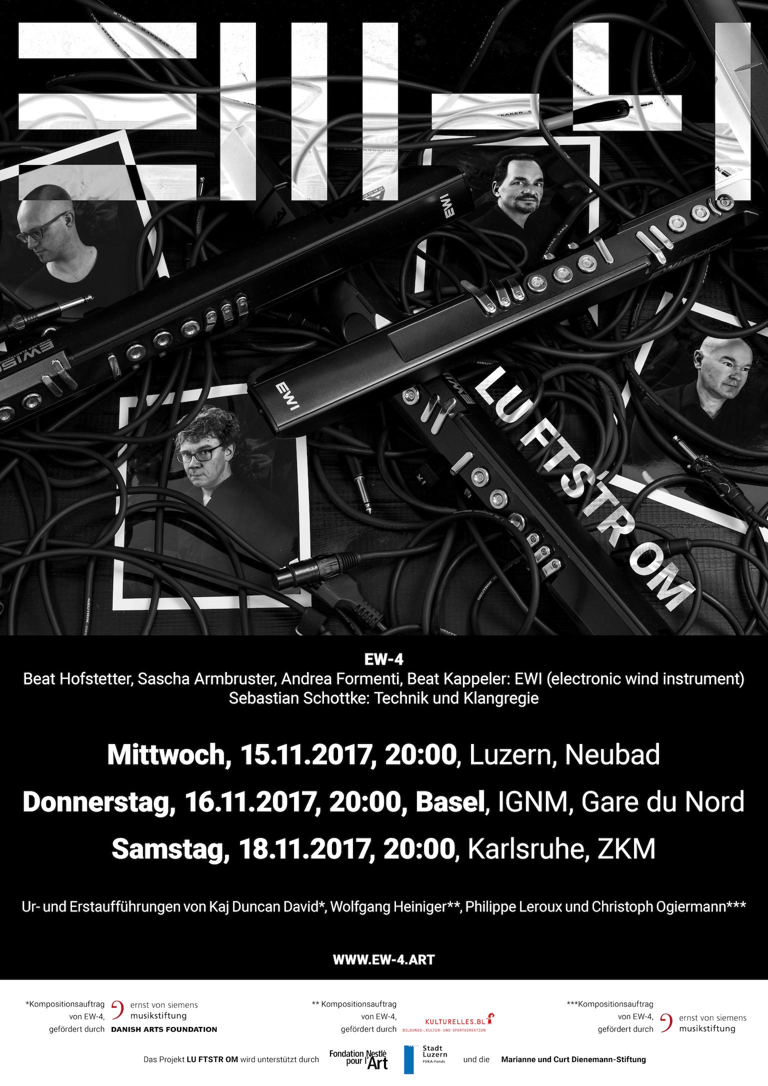 Plakat Luftstrom Basel 2017