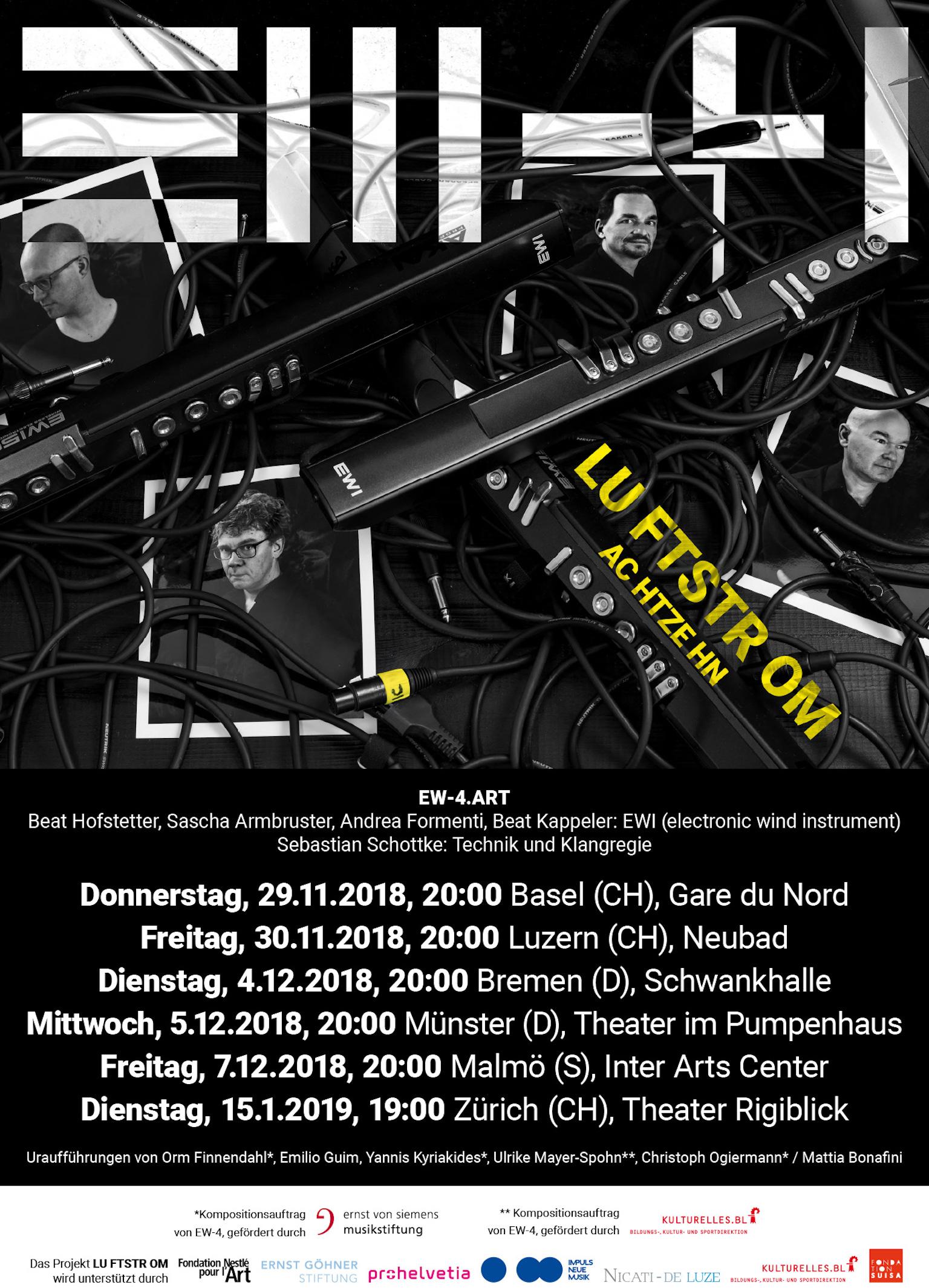Plakat Luftstrom18 Basel 2018
