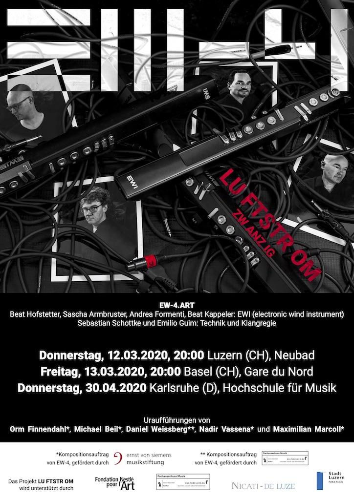 Luftstrom20 Plakat Basel 2020